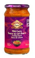 Mild curry cooking sauce 280521 ol