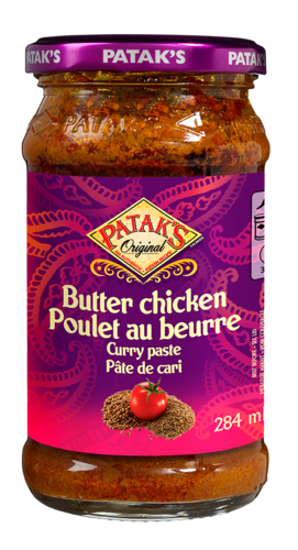 Butter chicken curry paste 281103 ol