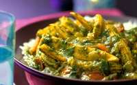 Baby corn and spinach curry makai saag hirez min