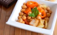 Spicy chickpeas salad min