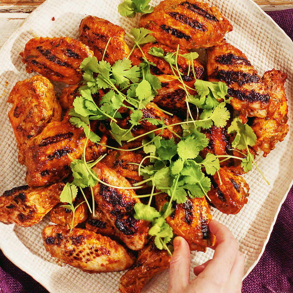 Vindaloo Chicken Wings Recipe