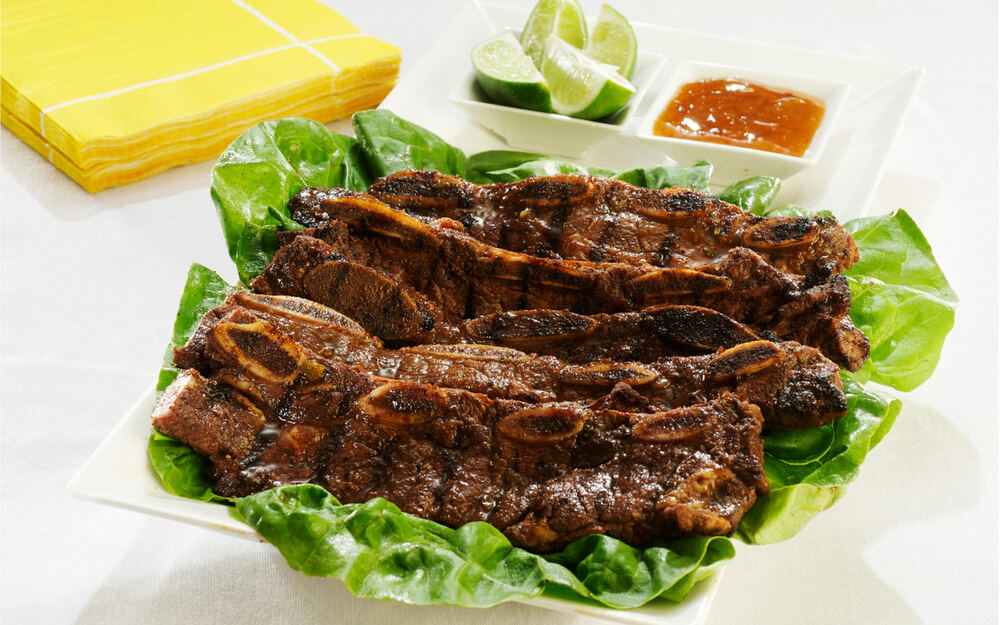 Lime-Madras Ribs Recipe