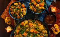 Chickpea butternut squash curry min