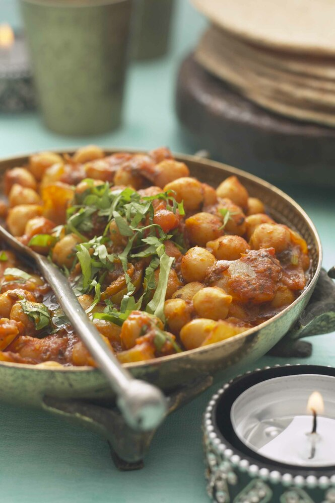 Tikka Masala Chickpea Curry Recipe